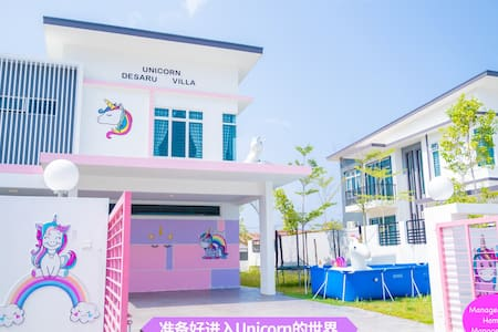 Unicorn Desaru Villa/15paxmore/Beach/pool/Ktv