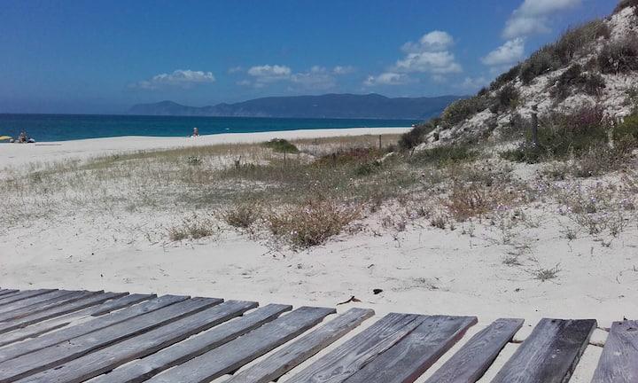 Casa das Dunas praia atlântica de Soltroia