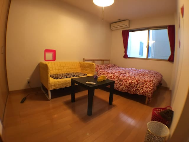 Cozy room for alone or couple traveling in Osaka! - Ósaka - Dům