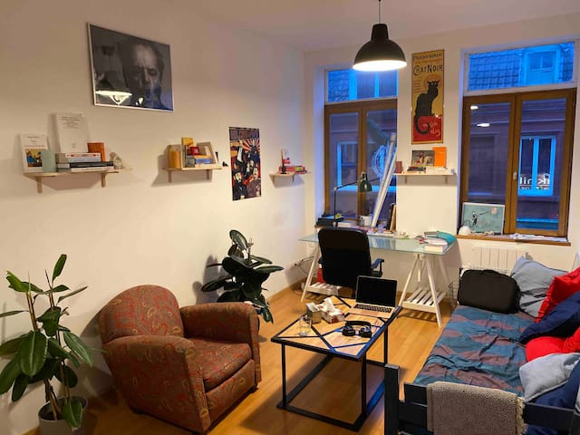 Lille Wazemmes - Appartement cosy F2