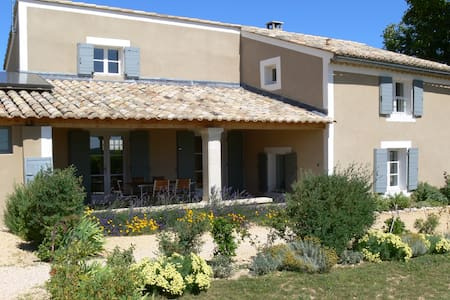 Les Marronniers - renovated house on vineyard - Vinsobres