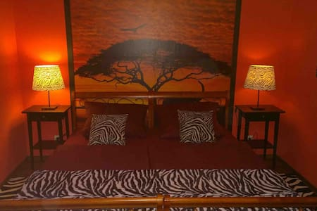 """Zimmer  """"Afrika"""" Pension Bleinroth Waldkirchen - Waldkirchen"""