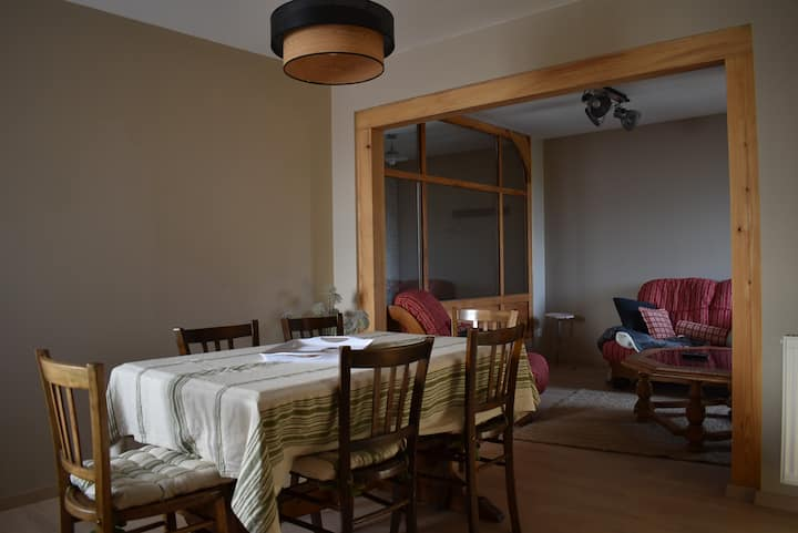 Appartement Le Tarier au pays de la Zorn.