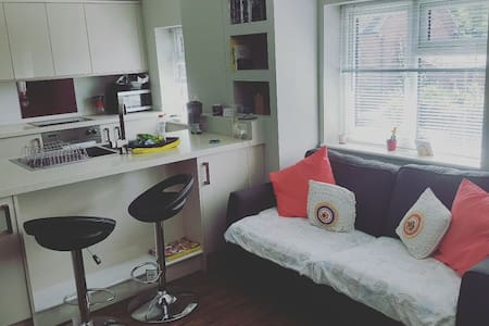 Modern 1 bed flat with free parking - เคมบริดจ์ - อพาร์ทเมนท์