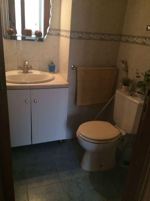 shared small bathroom