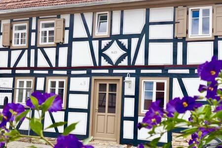 """***** Ferienhaus  """"Altes Grabenhöfchen"""" anno 1623"""