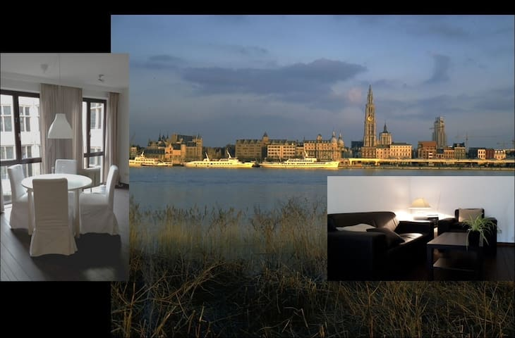 Cosy Antwerp City Center apartment