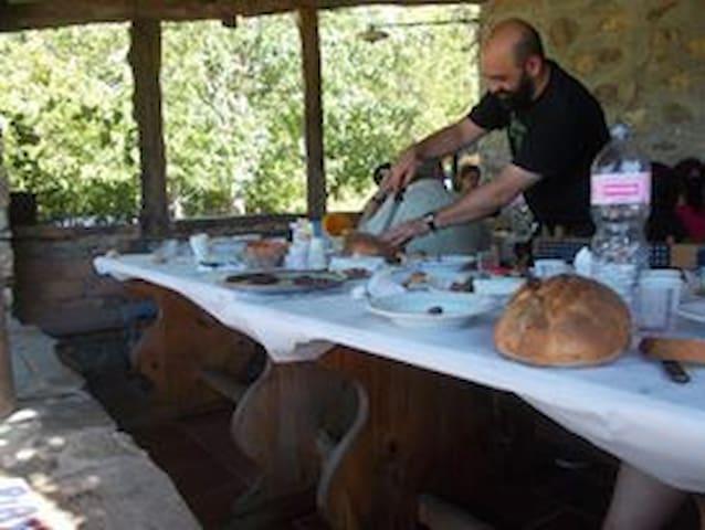 Rifugio Aquila Verde - Terranova di Pollino - Szoba reggelivel