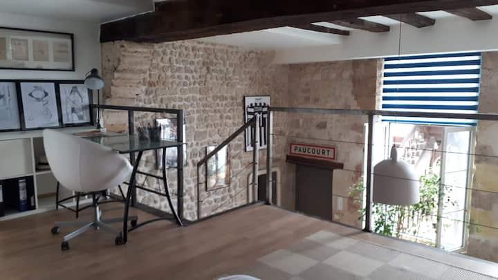 Duplex de charme centre historique Orléans