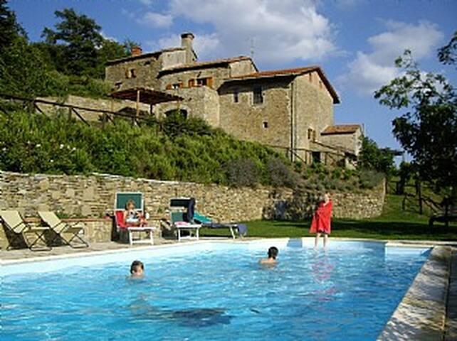 Hillside villa - Cortona - Hus