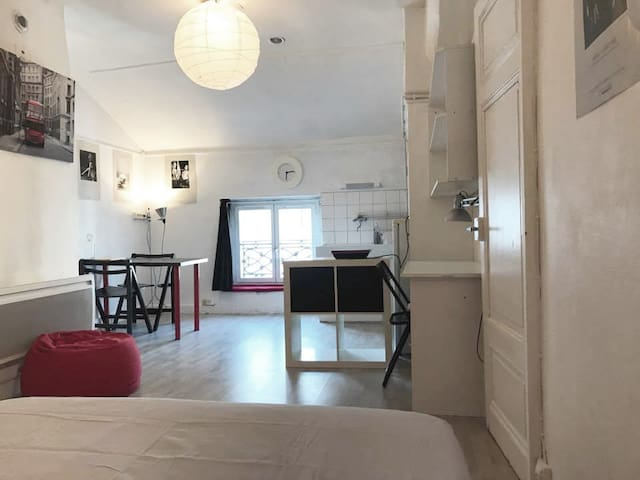 Nice Studio between Brotteaux and Downtown - Lyon - Wohnung