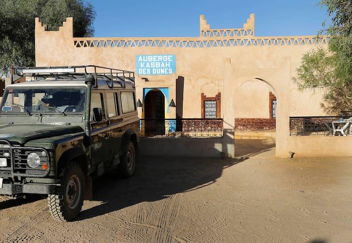 kasbah des dunes hôtel in merzouga desert