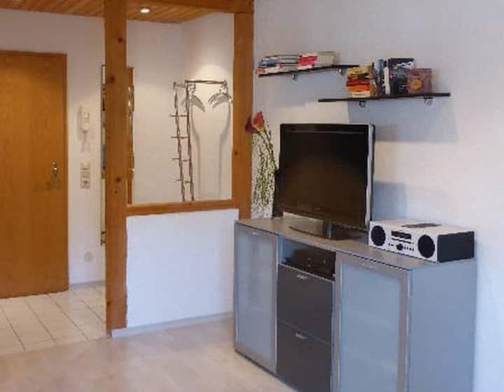 Gästehaus Stöckle, (Ballrechten-Dottingen), Ferienwohnung Typ B, 40 qm, Terrasse, 1 Schlafzimmer, max. 2 Personen
