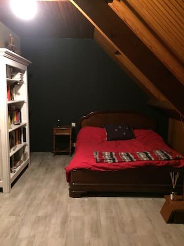 Chambre spacieuse proche Chantilly - Saint-Leu-d'Esserent - House