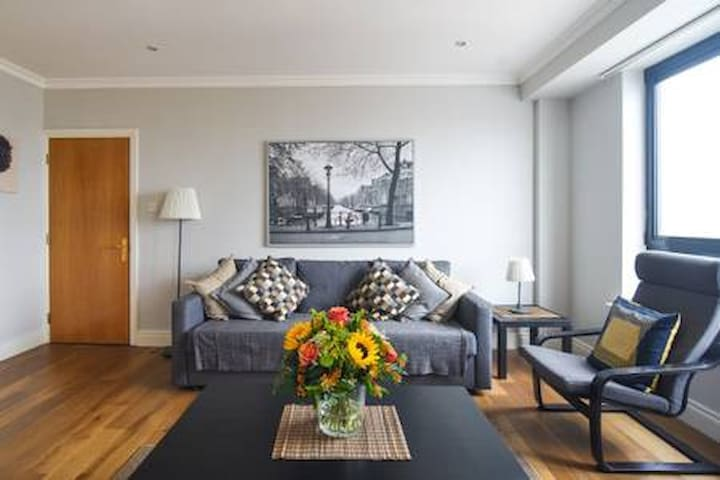 City Centre Apartment: Dearg faille