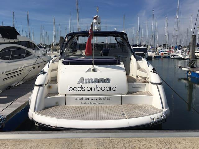 Luxury Sunseeker in Lymington - Lymington - Boot