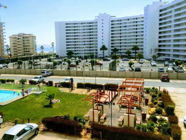 Departamento playa La Serena, para 5 personas