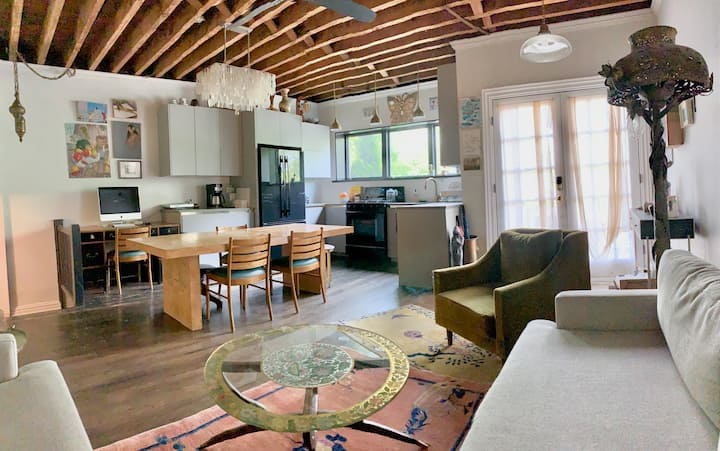 Entire Townhouse on Park w/ patio and parking