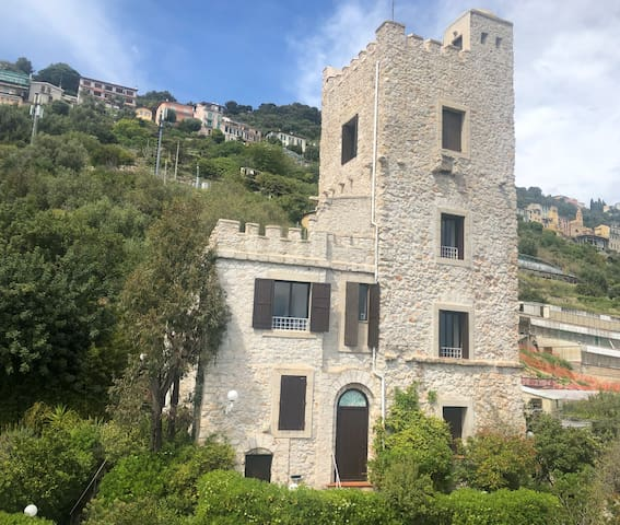 Splendido appartamento nella torre saracena