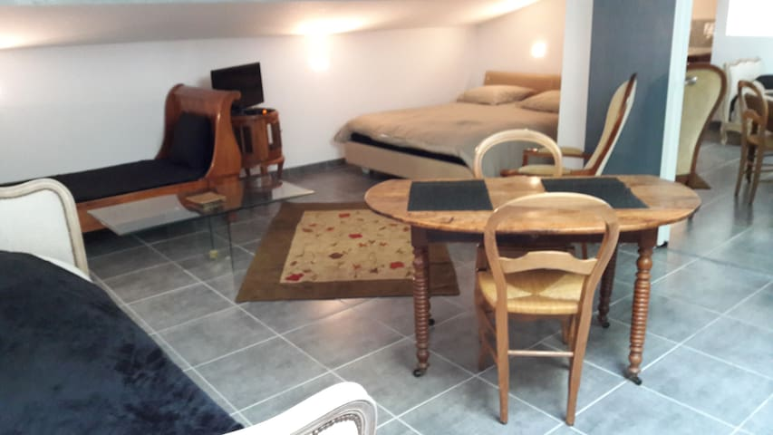 Studio indépendant cadre superbe - Saint-Gély-du-Fesc - Apartment