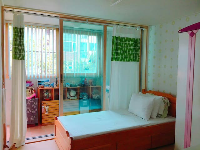 Quiet&cozy 1 Private room, Warm family greeting - Yongin-si - Apartamento