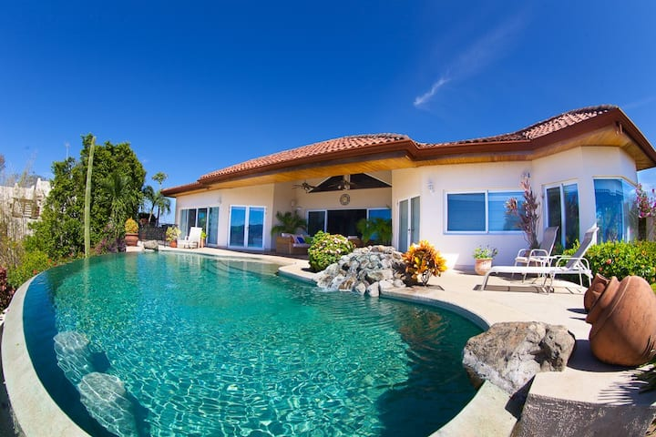 Stunning 3-Bed, 3½-Bath Oceanview Home w/ Private Infinity Pool