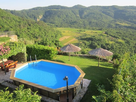 Family-friendly House Donatela&Saša with pool