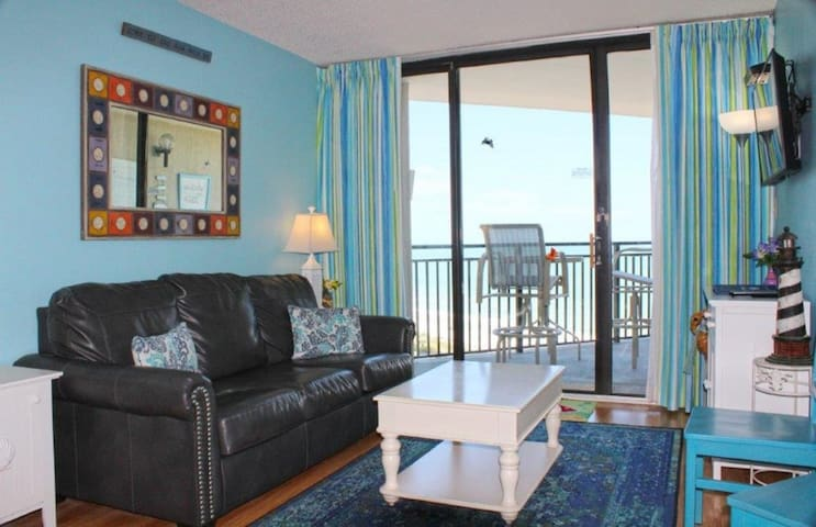 1BR Ocean Forest Plaza Condo W Beachview
