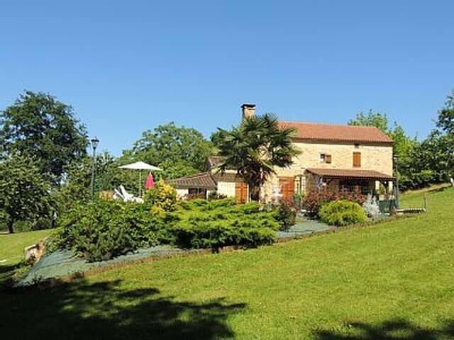 Petit paradis au coeur de la nature - Villefranche-du-Périgord - Casa