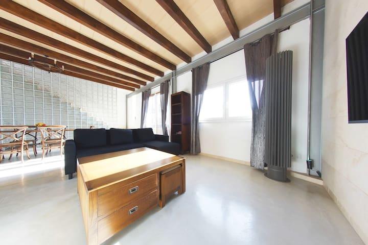 Attic Penthouse Apartment with Jacuzzi - Porto Cristo - Apartamento