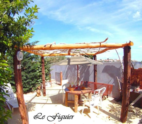 """Gîte """"Le Figuier"""" - Portiragnes - Vacation home"""