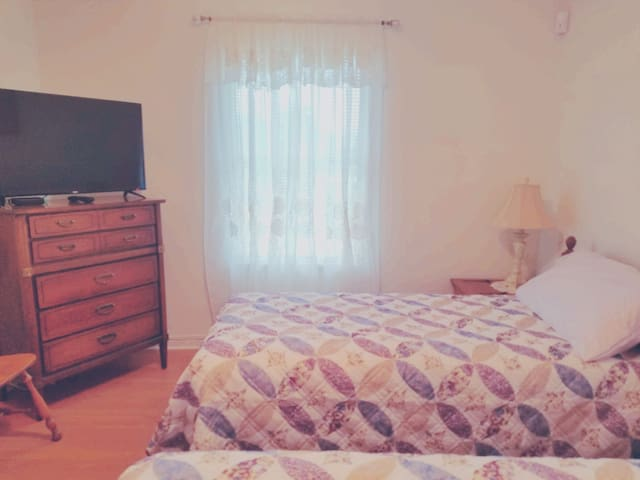 Home away from home - 2 bed room & 1 bath place.