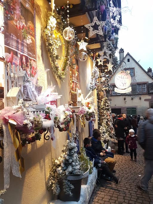 Christmas markets. Marchés de Noël