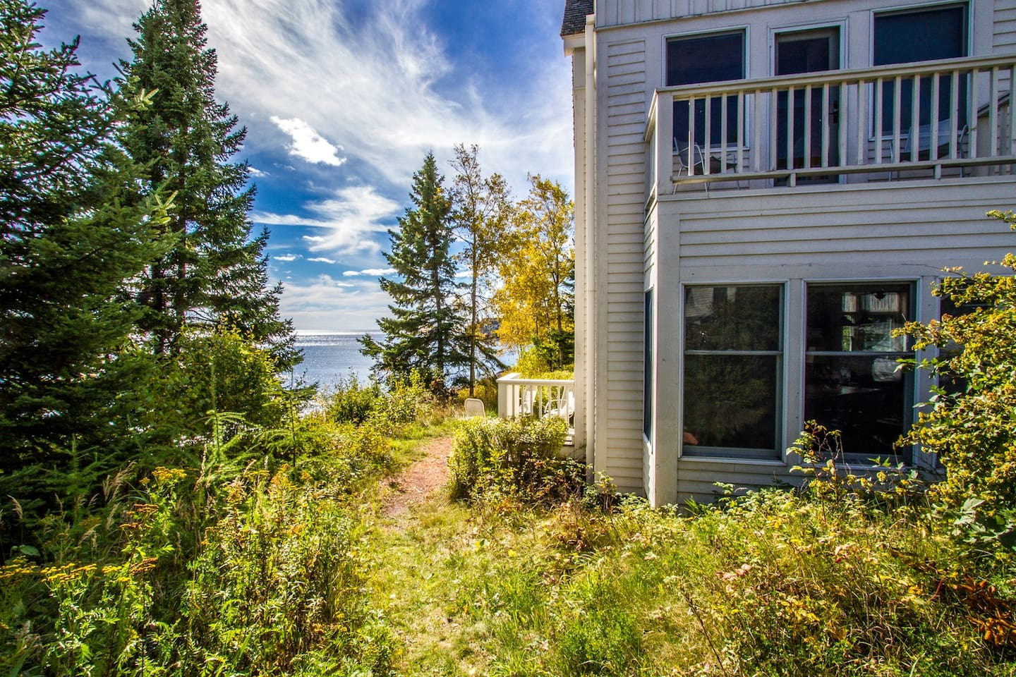 One of 3 end units among 18 Bluefin Grand Superior units - more light, more views, more dining space, more fresh air, always feeling close to the Lake