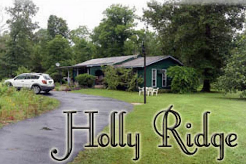 """Holly Ridge Retreat"" Vacation Home in 2010"