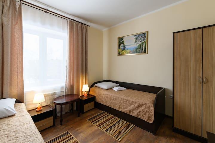 Гостиница Мещерино /Тепло / Уютно / возле а/п ДМД