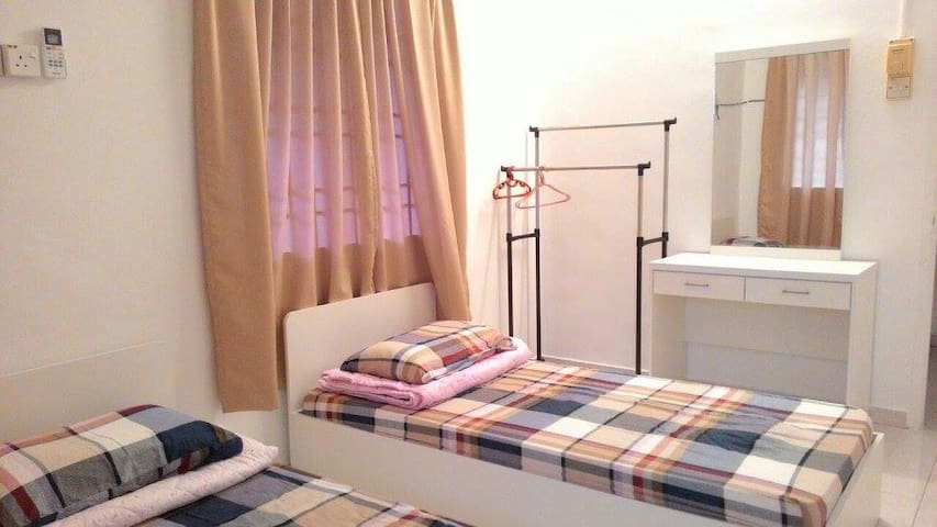 Cozy Homestay Room for 2 Guests Near UTAR