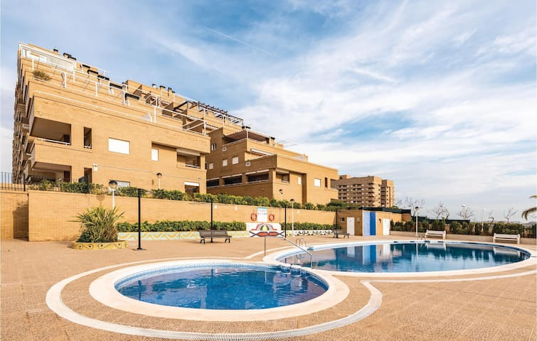 Holiday apartment with 2 bedrooms on 80m² in Oropesa del Mar