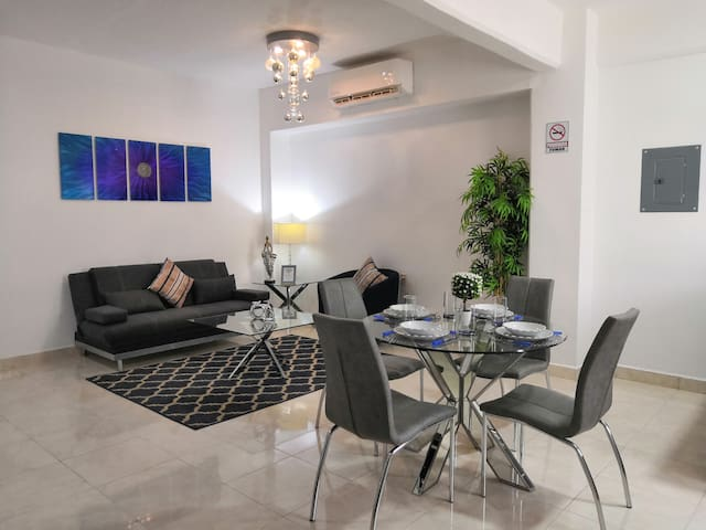 Apartment 1 in Suites Caribe near the  Boulevard
