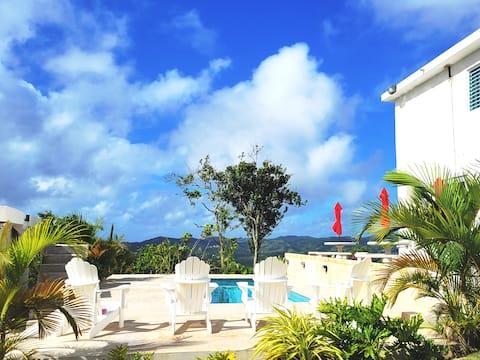 Hacienda Florentina with Puerto Rico best views
