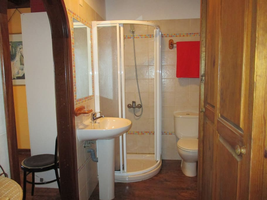 A new shower has been fitted - keep on looking...................