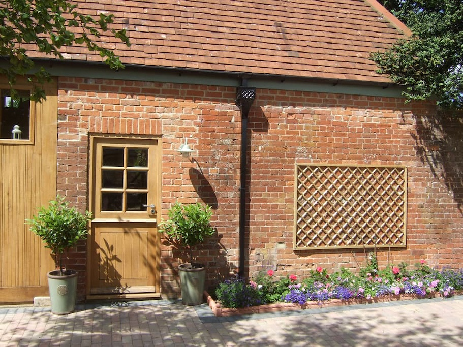 Front of the Coach House