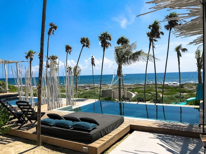 OceanFront Villa Kiin /Jacuzzi/Daily Cleaning