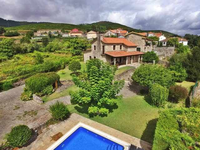 Ref. 11329 Spectacular stone villa with pool