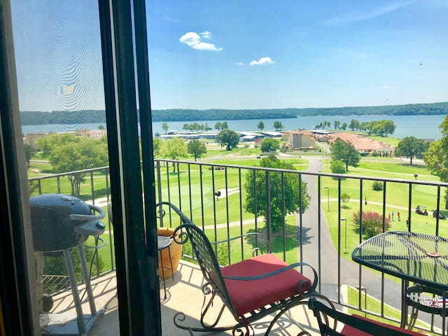 Shangri-La Resort Condo at Grand Lake Oklahoma.