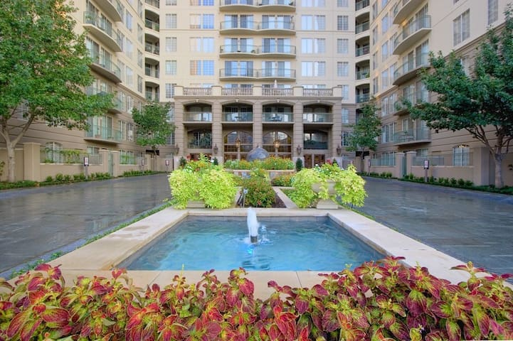 Uptown apt with direct access to Katy Trail