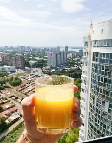 ЖК Арго с видом на город и Волгу 24 этаж!