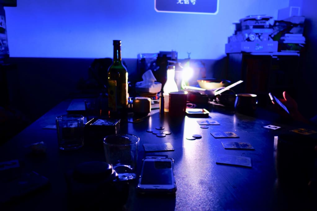 客厅的工作桌&餐桌&酒桌
