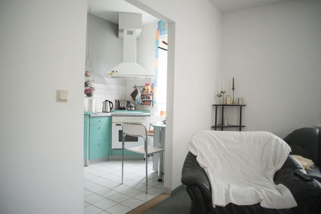 privatzimmer gro er wohnbereich und offene k che wohnungen zur miete in oberhof th ringen. Black Bedroom Furniture Sets. Home Design Ideas