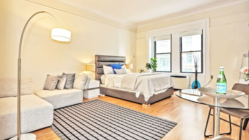 Elegant studio at the Heart of Boston with self-checkin
